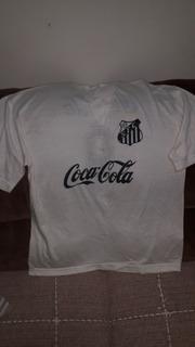 Camisas Do Santos. Antiga Coca Cola + Antiga Unicor