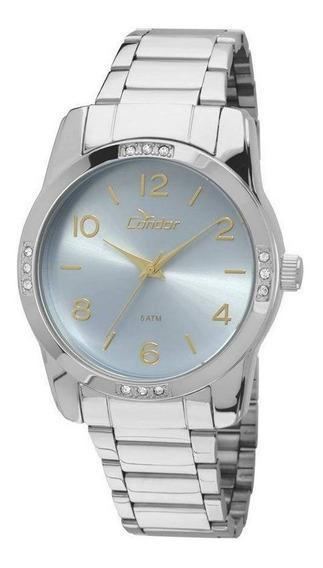 Relógio Condor Feminino Prata Analógico Aço Co2035koj/k3z