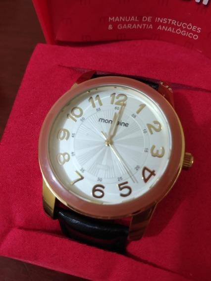 Relógio Mondaine Feminino Dourado R94129ld01