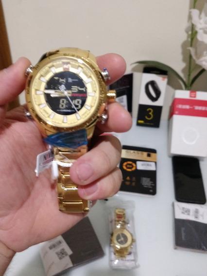 Relógio Masculino Naviforce 9093 Original Lacrado