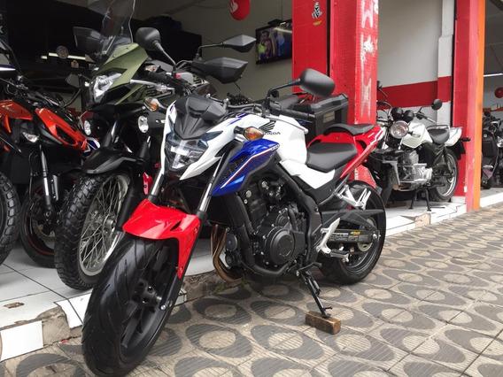 Honda Cb500f Com Abs Ano 2017 Shadai Motos