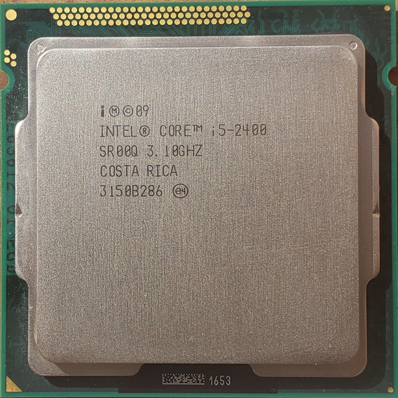 Procesador Intel Core I5-2400 3.10ghz 2da Gen Socket 1155