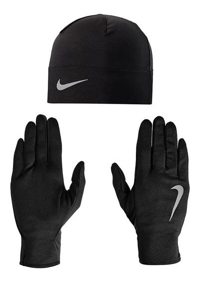 Kaddygolf Set Nike Gorro Y Guantes Drifit, Training, Running