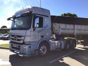Mercedes-benz Actros 2646 Ls 6x4 (e5) - Prata
