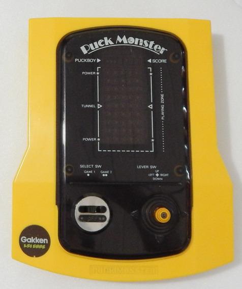Mini Game Pac Man. Gakken Puck Monster - Japan 82. Raro