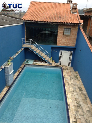 Sobrado C/piscina 4 Dorms 1 Suite 04 Vgs(ac Permuta)s.b.c - 8009