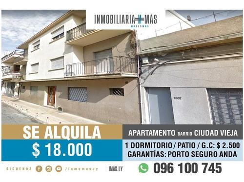 Imagen 1 de 12 de Apartamento Alquiler Ciudad Vieja Montevideo Imas.uy F *