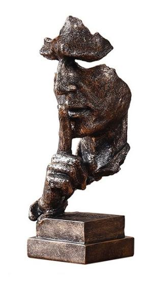 Estátuas Pensador Retro Resumo Personagens Estatueta Escultu
