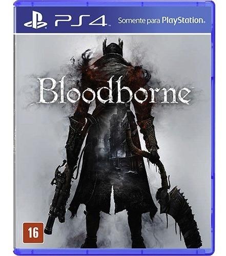 Jogo Bloodborne Playstation 4 Ps4 Mídia Física Original