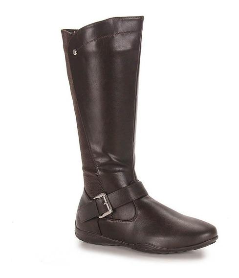 Bota Feminina Rasteira Flat Mooncity 70420 - Maico Shoes