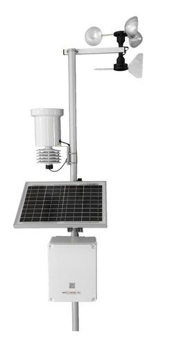 Estação Meteorológica C/ Datalogger + Fonte Solar - Autônoma