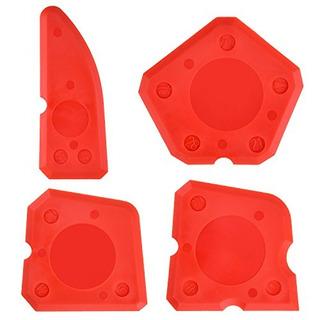 Hotop 4 Pieces Caulk Tool Kit Sellador Herramientas De Acaba
