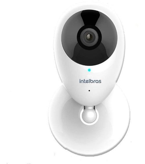 Câmera De Segurança Intelbras Wifi Sem Fio Mibo Ic3 Interno