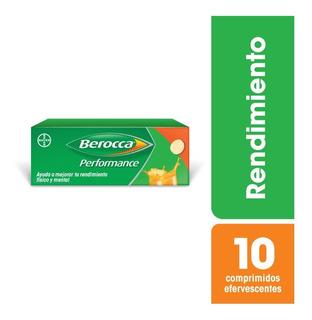 Berocca Performance X 10 Comprimidos Efervescentes
