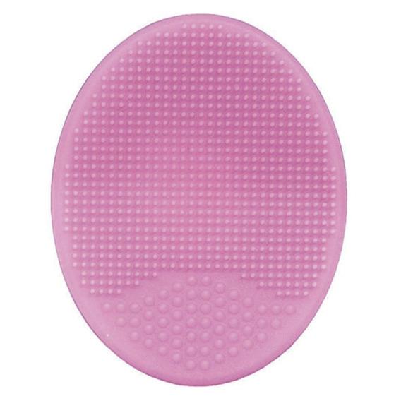Escova Para Banho - Silicone - Rosa - Buba