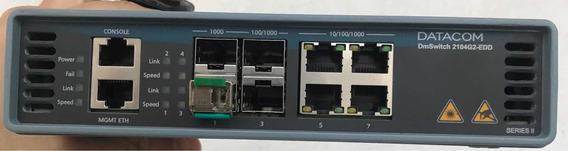 Switch Datacom 2104-g2-edd + 2 Mini