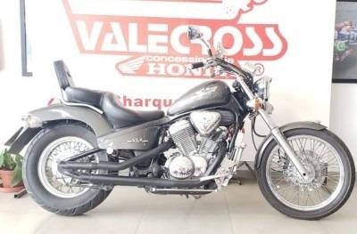 Motocicleta Honda Vt 600c Shadow 2002 Preta