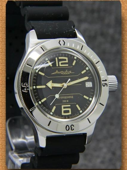 Reloj Ruso Vostok Amphibian Diver 200mts Automatico Nuevo!