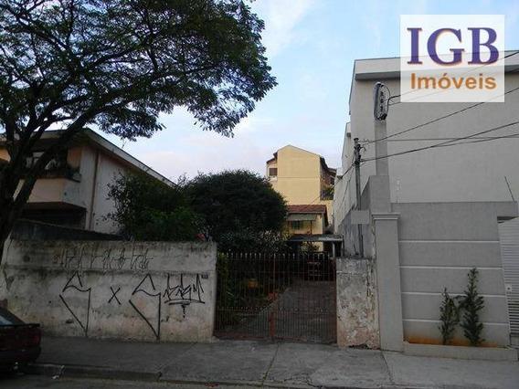 Terreno Residencial À Venda, Butantã, São Paulo. - Te0068