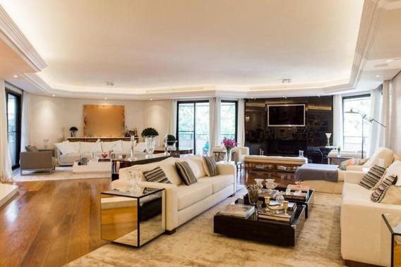 Apartamento À Venda, Moema, 640m², 4 Suítes, 4 Vagas! - Cv930