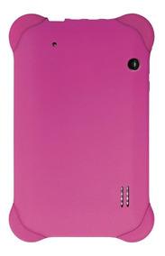 Capa Case Emborrachada P Tablet 7 Polegadas Rosa Multilaser