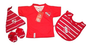 Kit Oficial Baby Fans Independiente