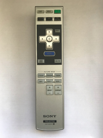 Controle Remoto Sony Rm-pjaw10 Compativel Com Varios Modelos