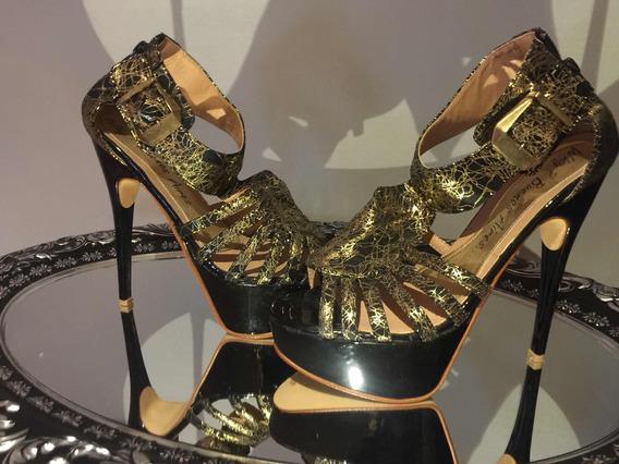 Zapatos Con Plataforma Hermosos!!