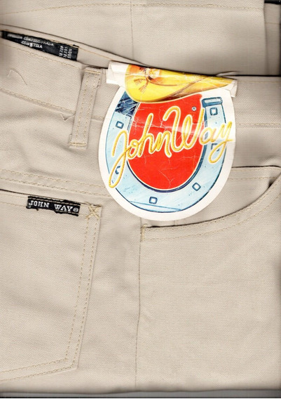 Pantalon Hombre Estilo Retro - John Way -