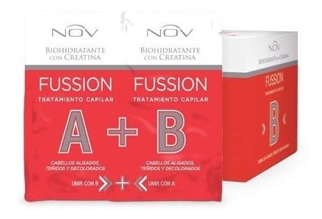 Fussion 48 Sobres Tratmiento Capilar Hidratante Creatina