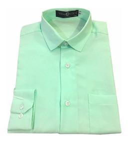 7534df5cc1cc6a Croquis De Moda Masculino - Camisa Masculinas Formal Verde-claro com ...