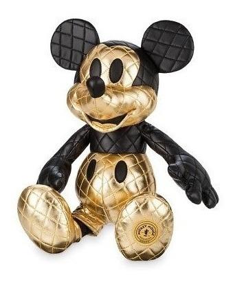 Decoração Disney Mickey Mouse Colecionador Memories Gold