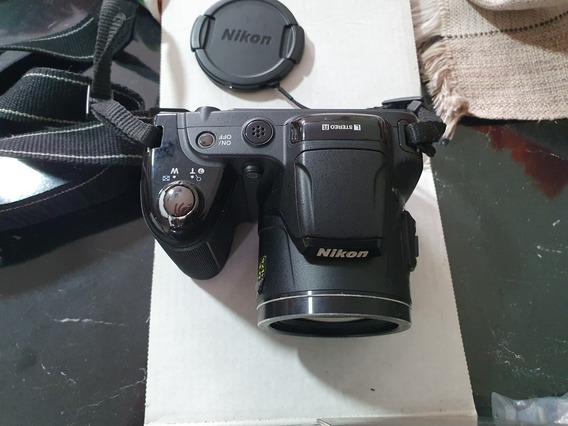 Câmera Fotográfica Semi-profissional Coolpix L810