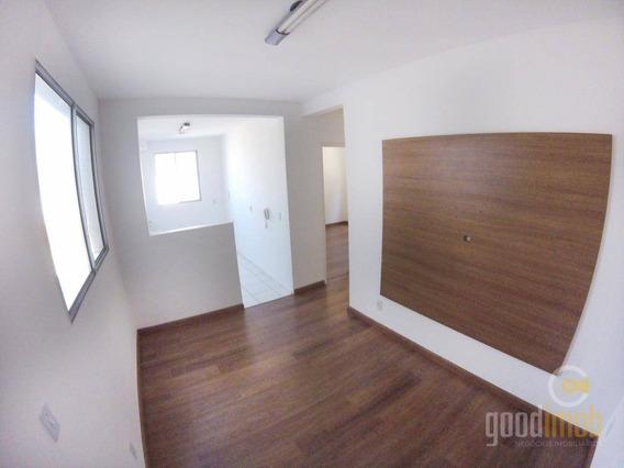 Apartamento Com 2 Dormitórios À Venda, Térreo No Condomínio Espetáculo - Jardim Novo Mundo - Sorocaba/sp - Ap0072