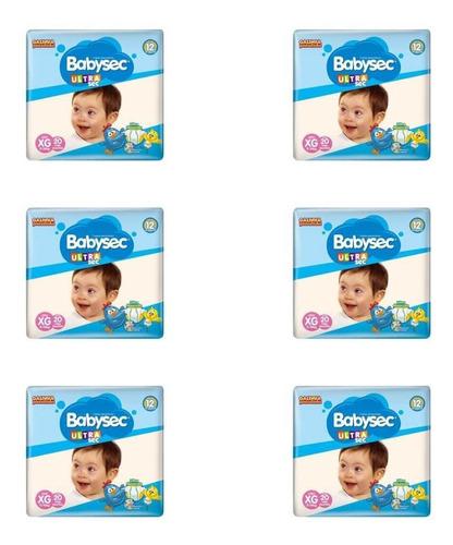 Babysec Ultra Jumbo Fralda Infantil Xg C/20 (kit C/06)