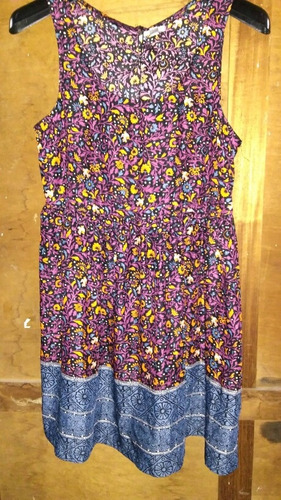 Vestido Corto Vestidito Mujer Verano Importado Ecoté