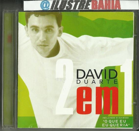 Cd David Duarte 2 Em 1 (inclui Faixas Cds 1997 + 2001)