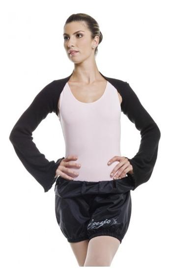 Bermuda Em Nylon P Aquecimento Ballet Dança Academia Capezio