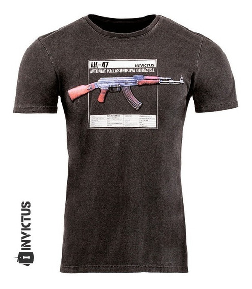 Camisa Manga Curta 100% Algodão Invicuts Concept Kalash