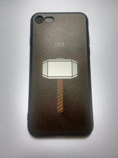 Funda Protectora Para iPhone 8/avengers/martillo De Thor/++/