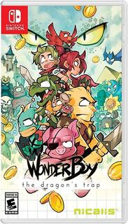Wonder Boy The Dragons Trap Fisico Nintendo Switch Dakmor