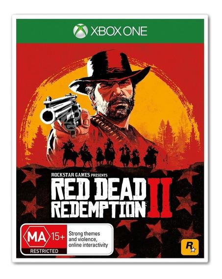 Red Dead Redemption 2 Para Xbox One + 1 Jogo Brinde