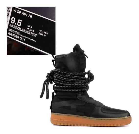 Nike Air Force 1 Sf High Nuevas Mujer Us 9.5 26.5 Cms