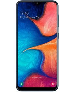 Celular Samsung Galaxy A20 / 32gb / 3gb / 6.4 Azul