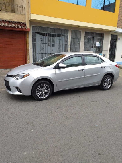 Toyota Corolla 2015 Automatico Secuencial Plata Metalico