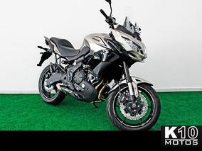 Kawasaki Versys 650 Abs 2017/2018 - Prata