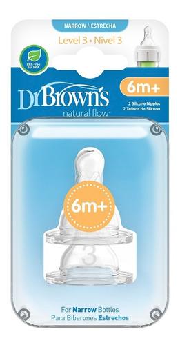 Chupo Dr Browns Nivel 3 Estándar Options X2 Und