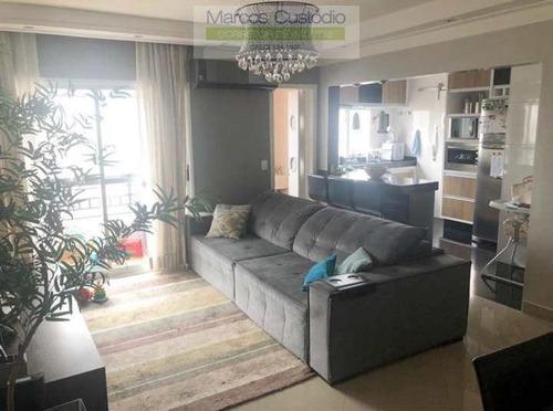 Apartamento Com 3 Dorms, Santa Paula, São Caetano Do Sul - R$ 690 Mil, Cod: 1381 - V1381