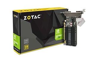 Tarjeta Gráfica Zotac Geforce Gt 710 1gb Ddr3 Pci-e2.0 Dl-dv