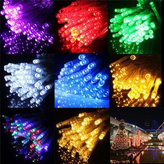 Luces Led Navidad Mallas Cascadas Cortinas 100 A 500led
